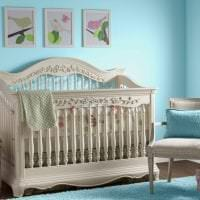 светлый стиль спальни в различных цветах картинка