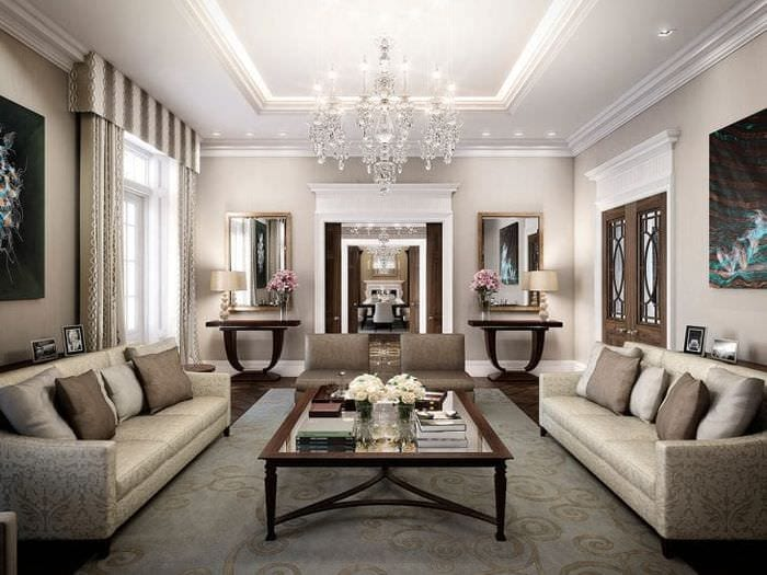 яркий стиль квартиры в стиле арт деко