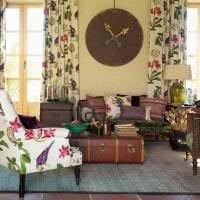красивый стиль спальни в английском стиле фото