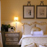 шикарный дизайн спальни в стиле шебби шик фото