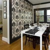 изысканный декор кухни в черном цвете картинка