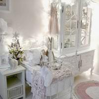 шикарный декор комнаты в стиле шебби шик картинка