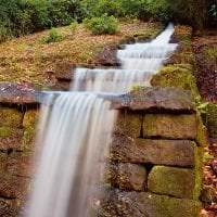шикарный ландшафтный дизайн дачи в английском стиле с цветами фото