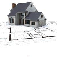 необычный дизайн дома в архитектурном стиле картинка