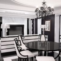 шикарный интерьер комнаты в стиле арт деко фото