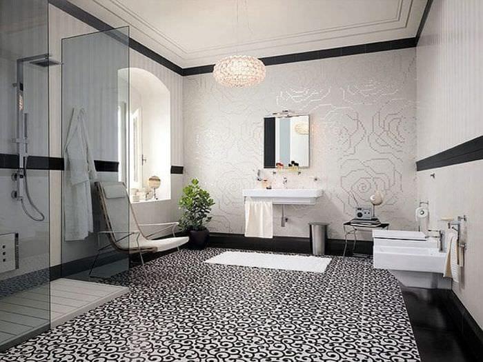 светлый интерьер комнаты в различных тонах