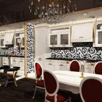 шикарный дизайн комнаты в стиле деко арт фото