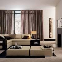 светлый стиль квартиры в японском стиле картинка