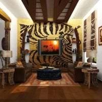 необычный интерьер спальни в африканском стиле картинка