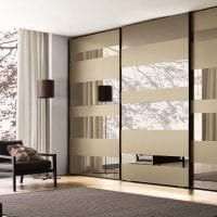 встроенный шкаф в стиле коридора фото