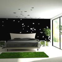 необычные бабочки в дизайне коридора картинка