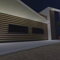 светлый стиль загородного дома в архитектурном стиле картинка