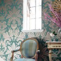 красивый стиль квартиры в бирюзовом цвете картинка