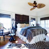 светлый интерьер квартиры в африканском стиле фото