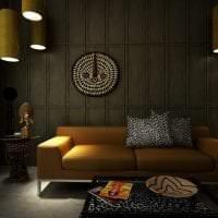 яркий интерьер квартиры в африканском стиле фото