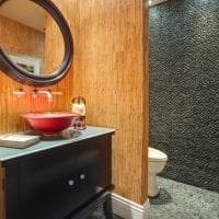 жалюзи с бамбуком в дизайне коридора фото