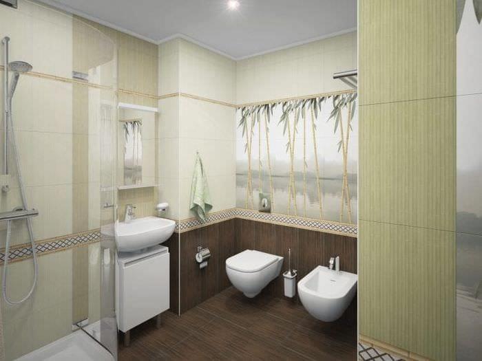 жалюзи с бамбуком в дизайне спальни