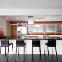 светлый терракотовый цвет в стиле кухни картинка