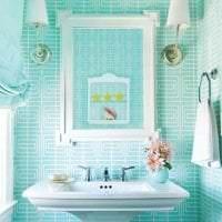 шикарный цвет тиффани в стиле комнаты фото