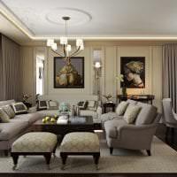 красивый интерьер квартиры в стиле деко арт фото