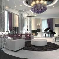 светлый дизайн комнаты в стиле арт деко картинка