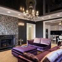 красивый интерьер комнаты в стиле арт деко фото
