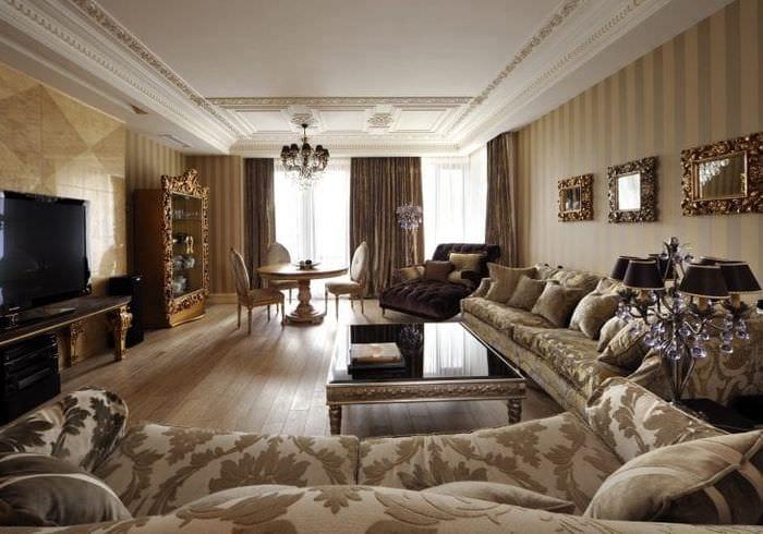 светлый стиль дома в стиле арт деко