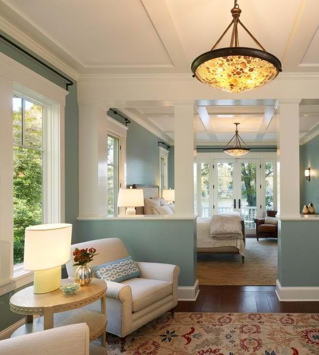 яркий стиль квартиры в американском стиле