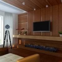 шикарный дизайн комнаты в стиле хай тек фото