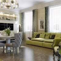 шикарный дизайн дома в стиле деко арт картинка