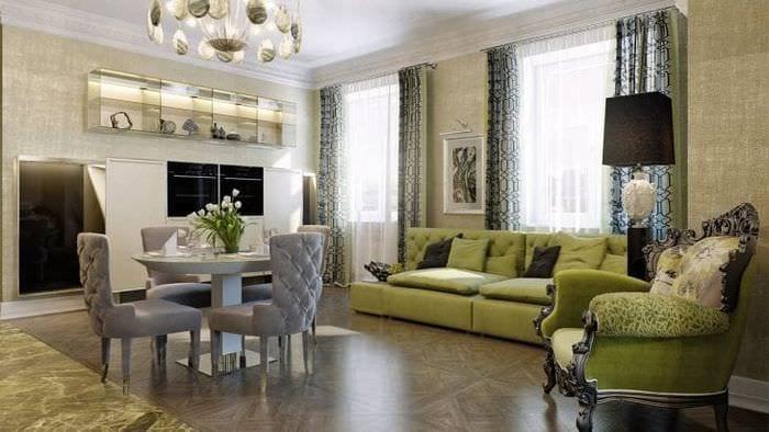 Стиль Арт-деко в современных интерьерах, кухня