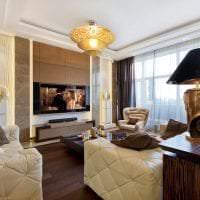 яркий интерьер квартиры в стиле арт деко фото