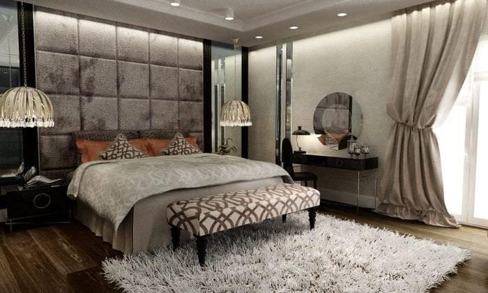 красивый интерьер комнаты в стиле деко арт