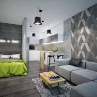 светлый стиль коридора в различных цветах картинка
