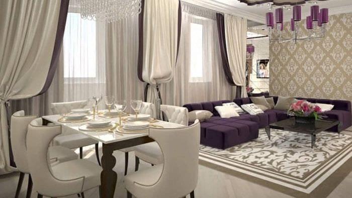 яркий стиль комнаты в стиле деко арт