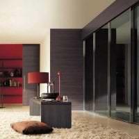 интерьер шкафа в спальне из мдф картинка