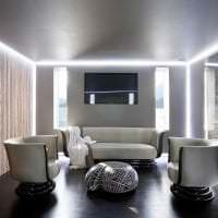 красивый декор квартиры в стиле хай тек картинка