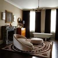 шикарный стиль комнаты картинка