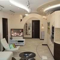 красивая арка в интерьере коридора фото