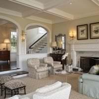 светлая арка в дизайне квартиры фото