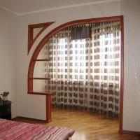 красивая арка в стиле коридора картинка