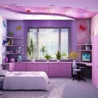 цветная гостевая комната интерьер картинка