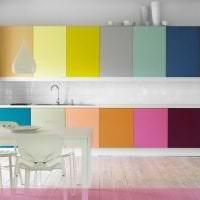 цветная спальня комната дизайн картинка
