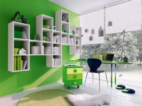яркая прихожая комната стиль картинка