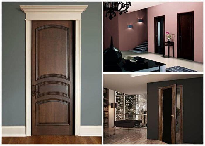 светлые двери в дизайне спальни