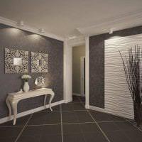 светлые двери в дизайне с оттенком лимонного картинка