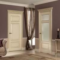 яркие двери в стиле спальни картинка