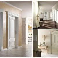 темные двери в дизайне спальни фото