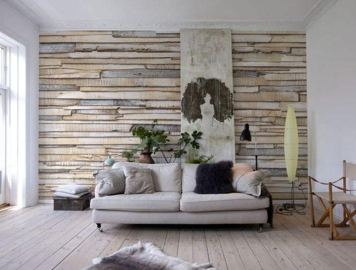 ирисовый фотообои дерево на стену фото при всем