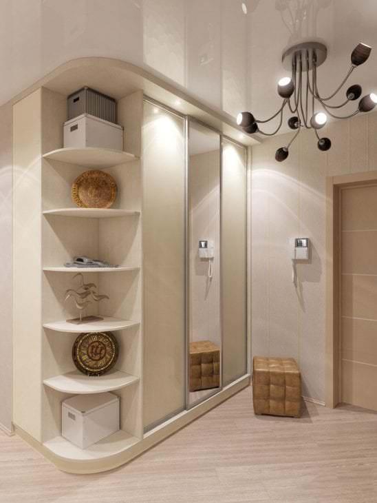красивый белый дуб в дизайне гостиной